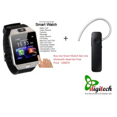 Buy one smart watch get one bluetooth headset free